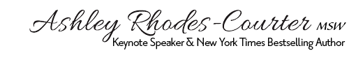 Ashley Rhodes-Courter | Author & Speaker
